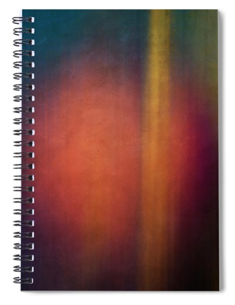 Color Abstraction Xxvii Spiral Notebook