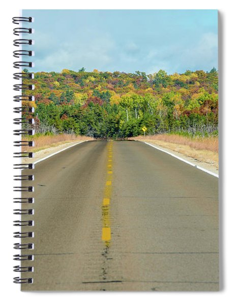 Color At Roads End Spiral Notebook
