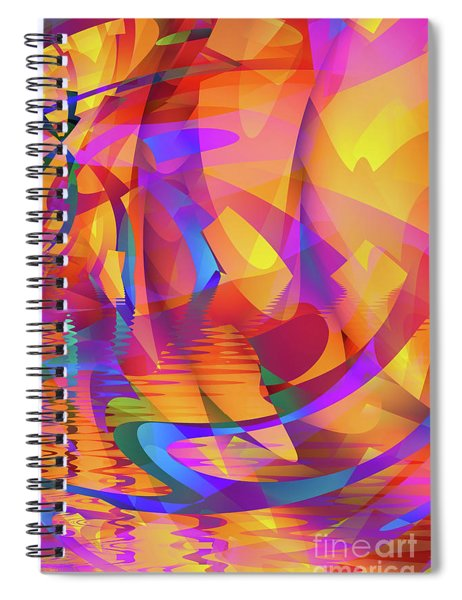 Color Chaos Spiral Notebook