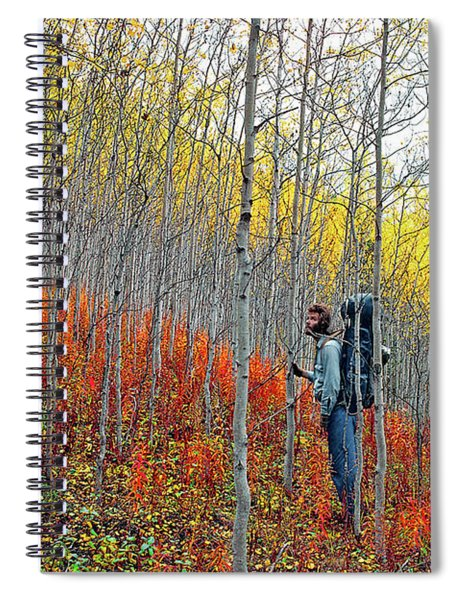 Color Fall Spiral Notebook