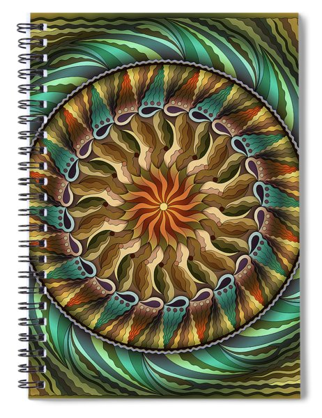 The Light At The End Of The Tunnel Spiral Notebook