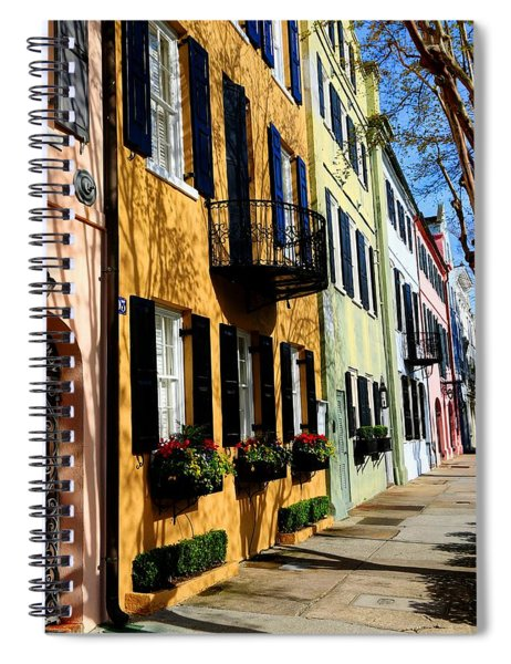 Color Of Charleston Spiral Notebook