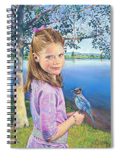 Color Personified - Blue Spiral Notebook