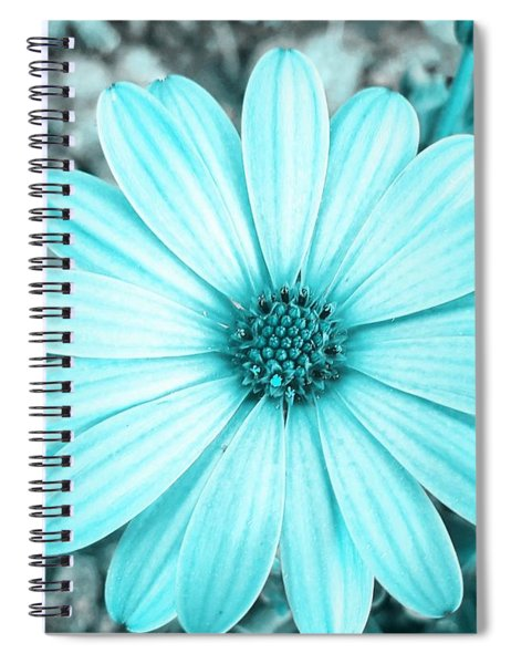 Color Trend Blue Blossom Spiral Notebook