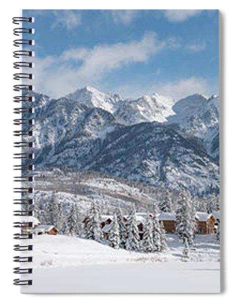 Colorad Winter Wonderland Spiral Notebook