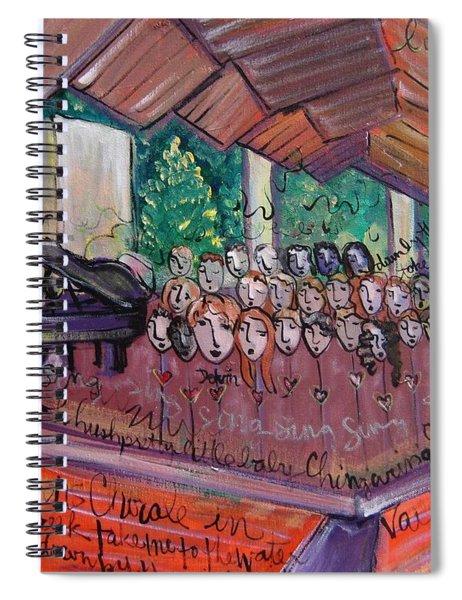 Colorado Childrens Chorale Spiral Notebook
