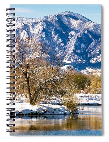 Colorado Flatirons 2 Spiral Notebook