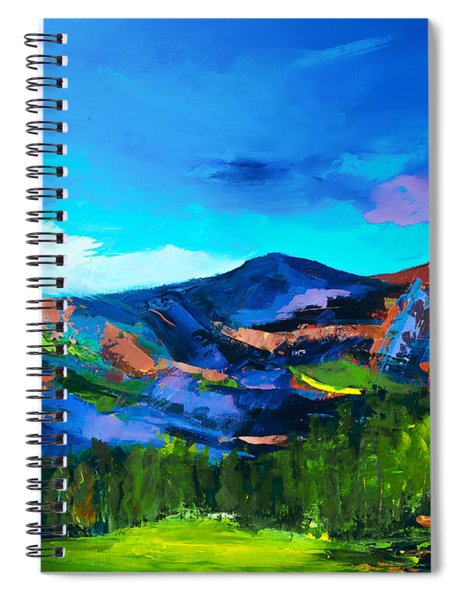 Colorado Hills Spiral Notebook