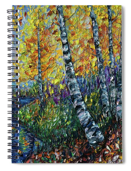 Glimpses Of Colorado Fall Colors Spiral Notebook