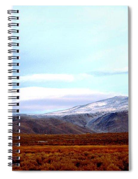 Colorado Mountain Vista Spiral Notebook