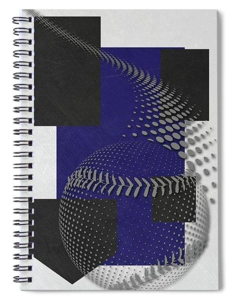 Colorado Rockies Art Spiral Notebook