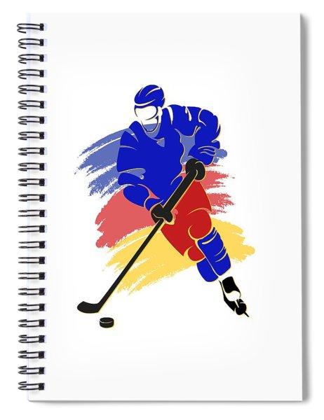 Colorado Rockies Player Shirt Spiral Notebook