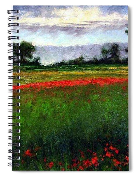 Colorburst Spiral Notebook