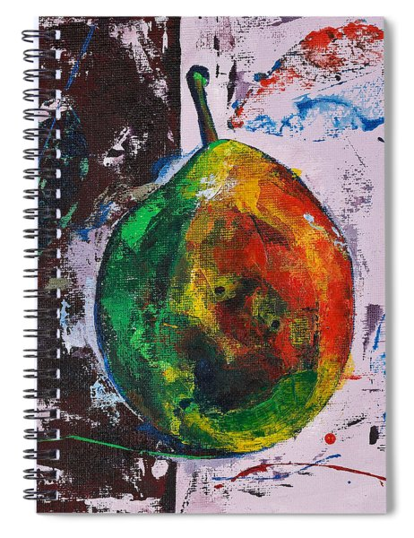 Colored Juicy Fruit Spiral Notebook
