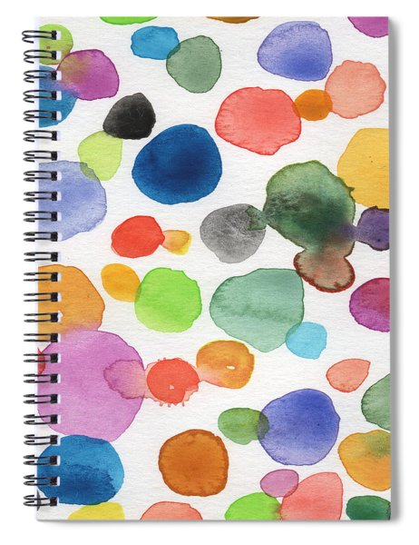 Colorful Bubbles Spiral Notebook