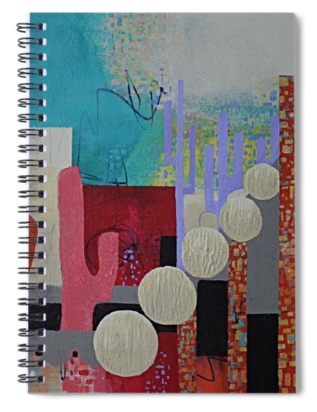 Colorful Desert Spiral Notebook