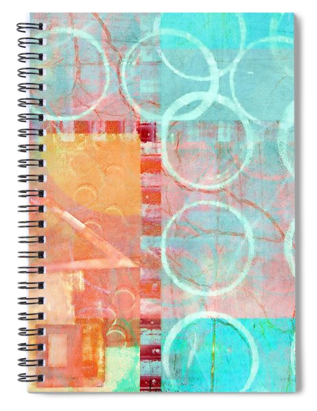 Colorful Little House 1 Spiral Notebook