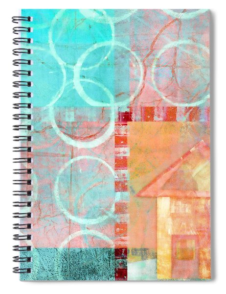 Colorful Little House 2 Spiral Notebook