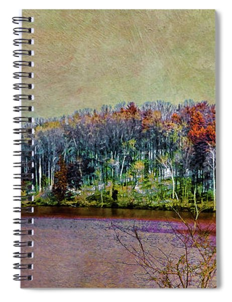 Colorful Loch Raven Reservoir Spiral Notebook