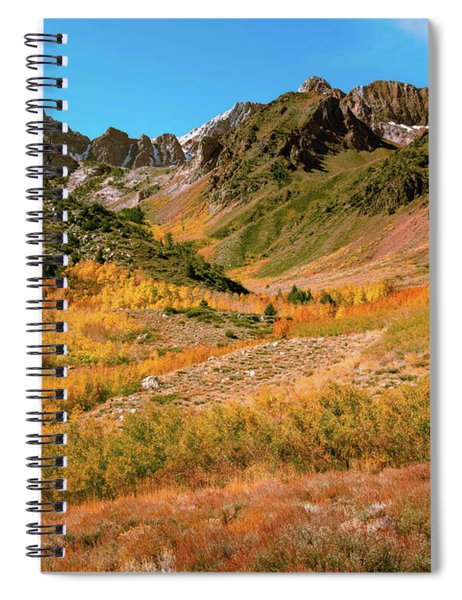 Colorful Mcgee Creek Valley Spiral Notebook