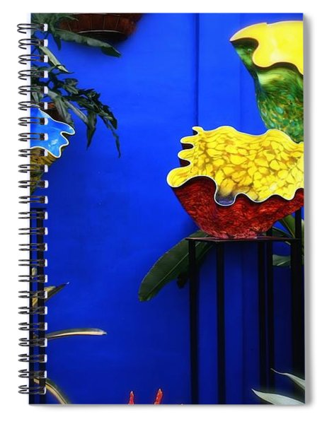 Colorful Pinch Bowls Spiral Notebook