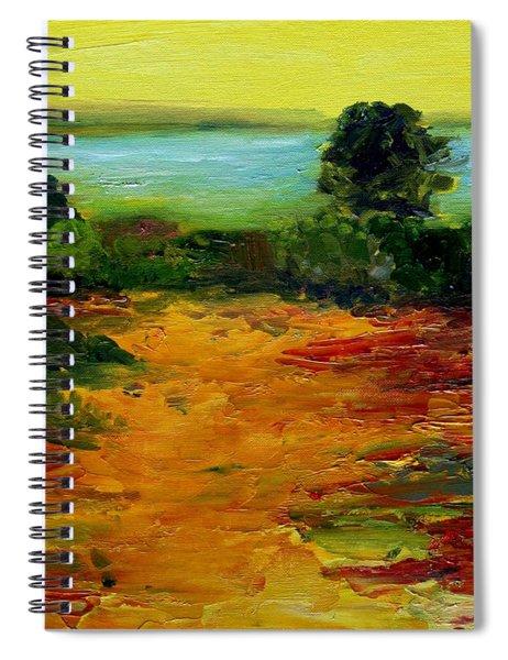 Colorful Prairie Spiral Notebook