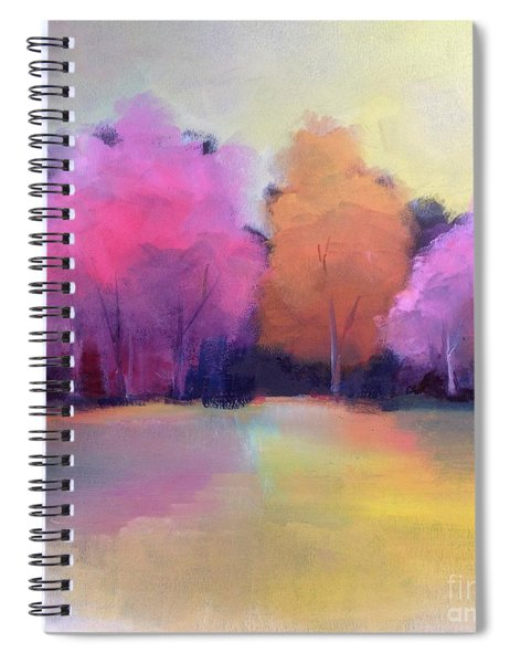 Colorful Reflection Spiral Notebook