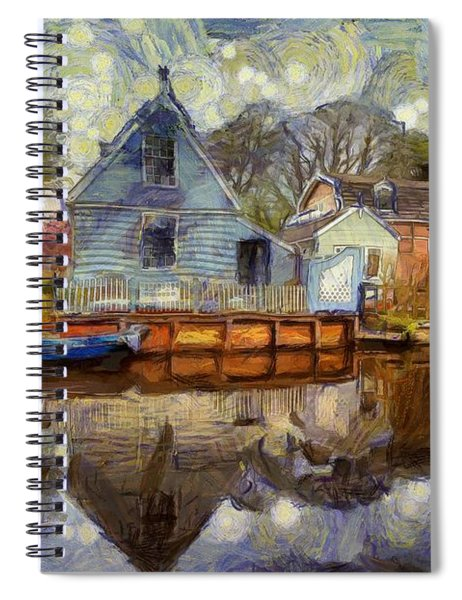 Colorful Serenity Spiral Notebook