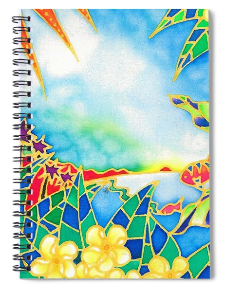 Colorful Tropics 1 Spiral Notebook