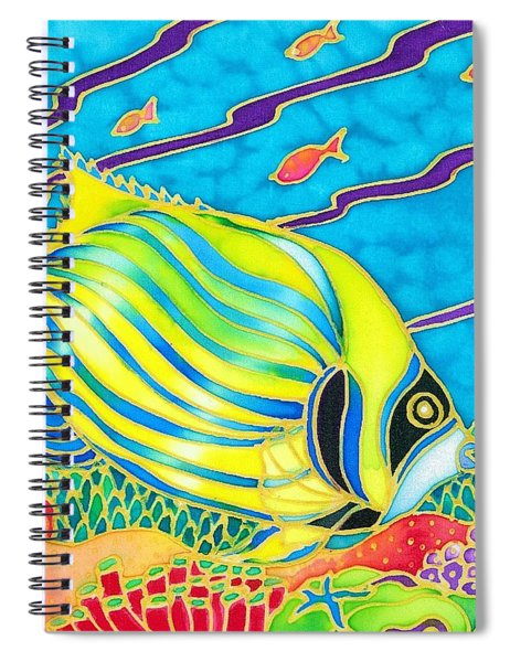 Colorful Tropics 10 Spiral Notebook