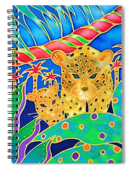 Colorful Tropics 3 Spiral Notebook