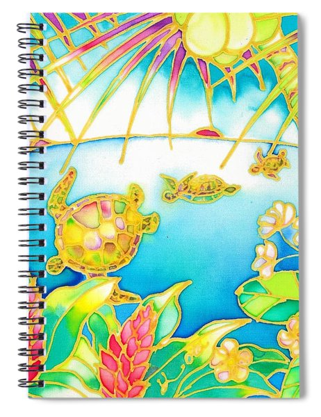 Colorful Tropics 7 Spiral Notebook