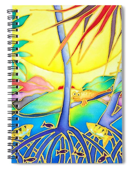 Colorful Tropics 8 Spiral Notebook