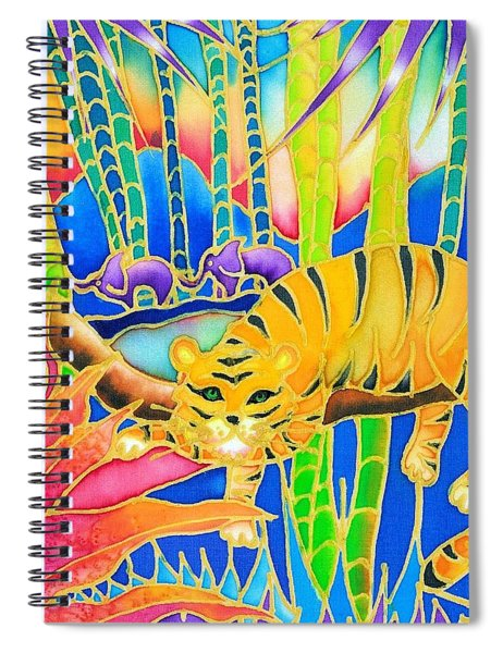 Colorful Tropics 9 Spiral Notebook