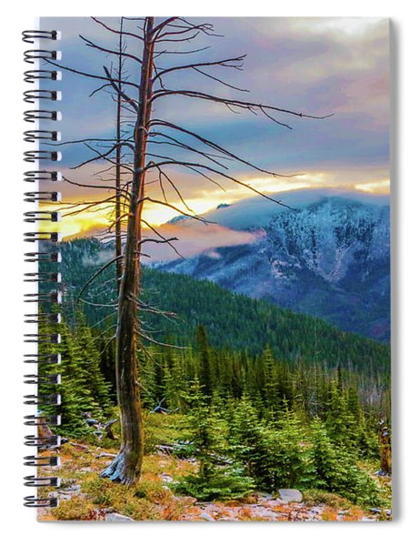 Colorfull Morning Spiral Notebook