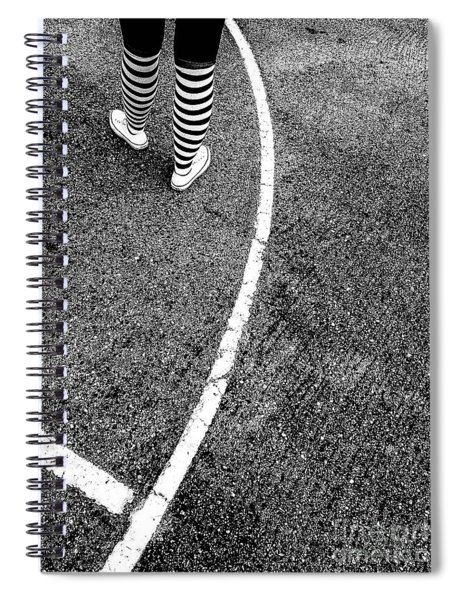 Colorless Contrast Spiral Notebook