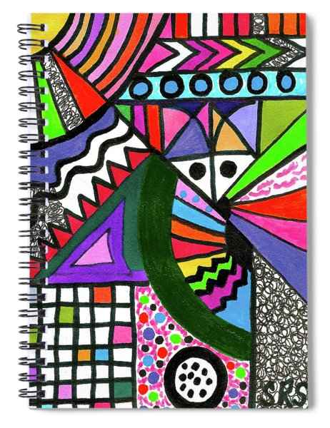 Colors Gone Wild Spiral Notebook