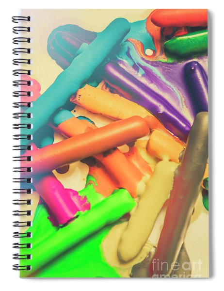 Colors In Crossfade Spiral Notebook