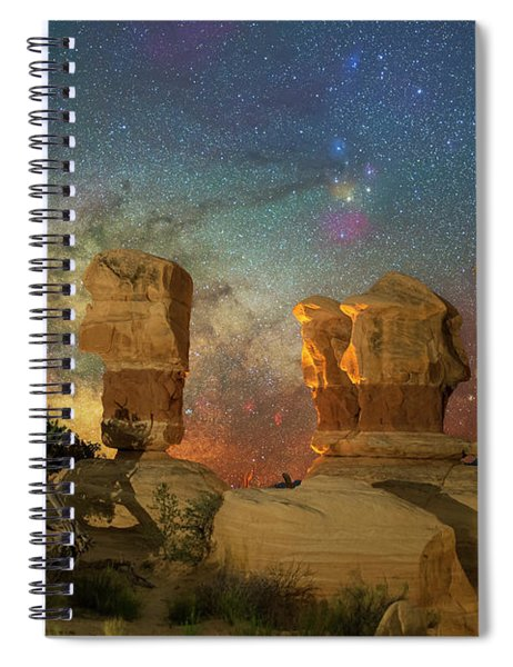 Colors Of Darkness Spiral Notebook