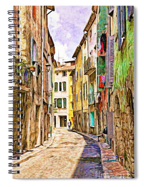 Colors Of Provence, France Spiral Notebook