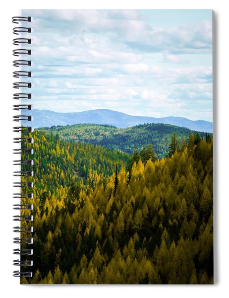 Colors Of Sherman's Pass Spiral Notebook
