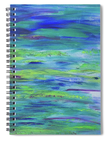 Colors Of Summer Spiral Notebook