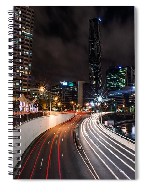 Colors Of The City Spiral Notebook