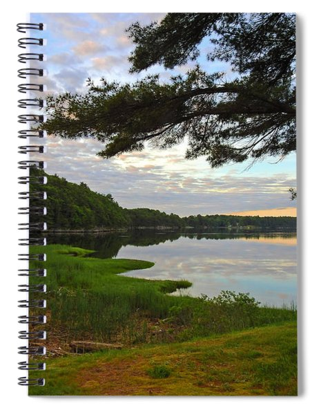 Colors Of The River Spiral Notebook