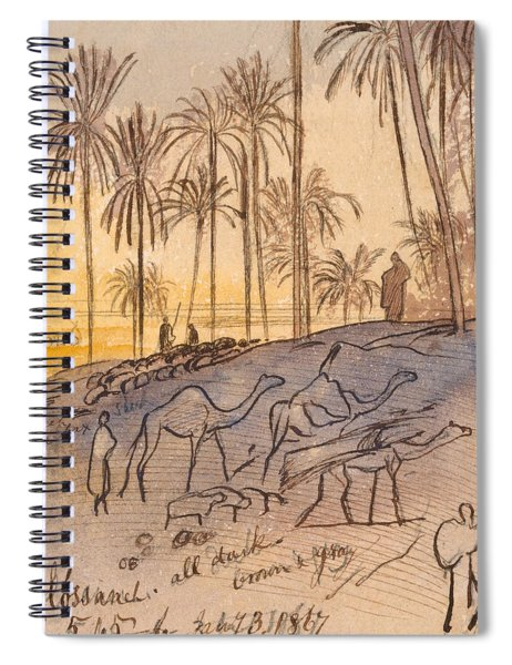 Colosaneh, Five-forty-five - Six P.m., January 3, 1867 Spiral Notebook