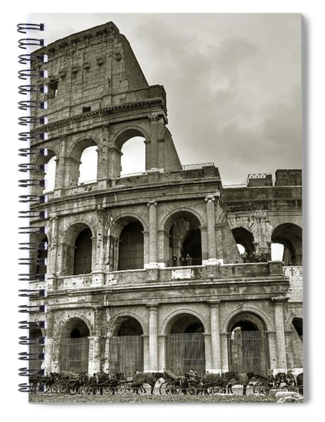 Colosseum  Rome Spiral Notebook
