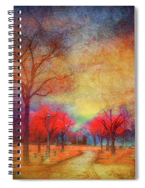 Colour Burst Spiral Notebook