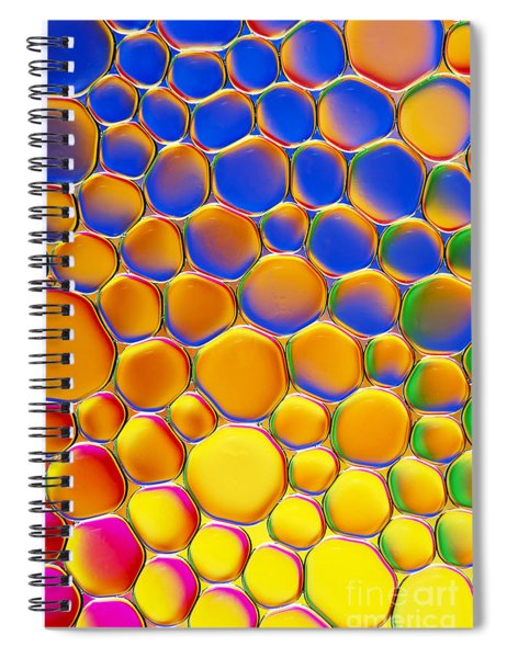 Colour Me Happy Spiral Notebook