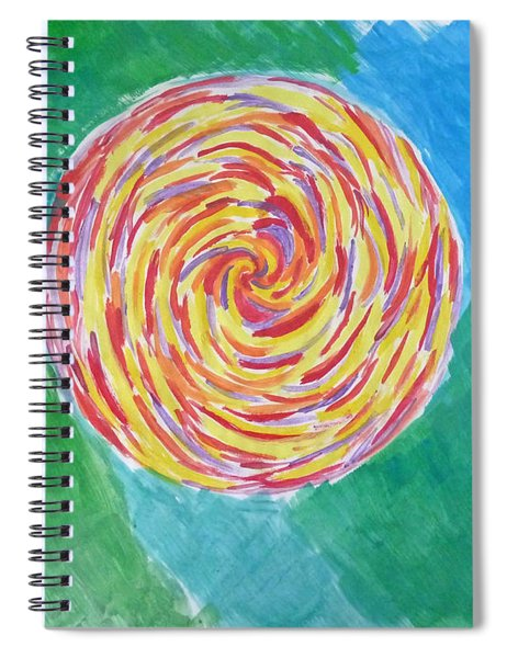 Colour Me Spiral Spiral Notebook