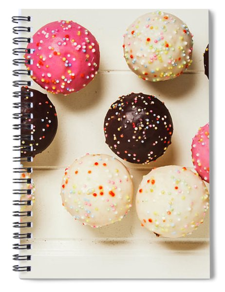 Colourful Cupcakes Spiral Notebook